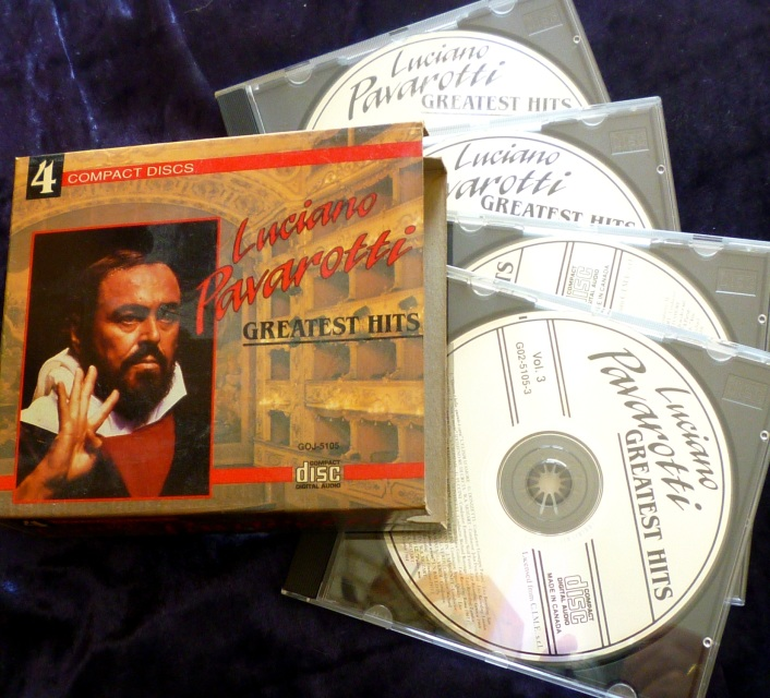 Luciano Pavarotti Greatest Hits 4 Cd Box Set